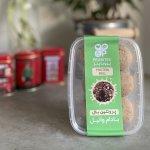 پروتئین بال کره بادام خام و پروتئین Whey